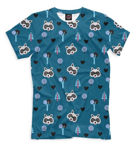 Мужская футболка Еноты