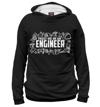 Женское Худи Trust me I am an Engineer