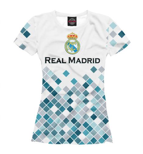 Футболка Print Bar Real Madrid футболка print bar real огненный лого