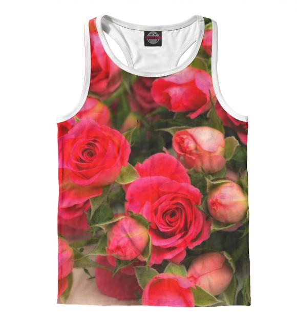 Купить Мужская майка-борцовка Розы CVE-107058-mayb-2