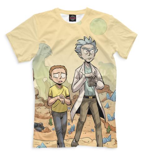 Купить Мужская футболка Рик и Морти RNM-516751-fut-2