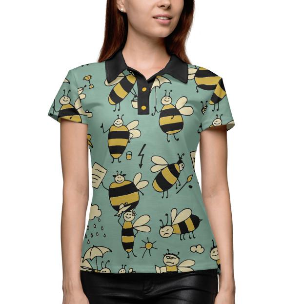Купить Женское поло Пчёлки NAS-973063-pol-1