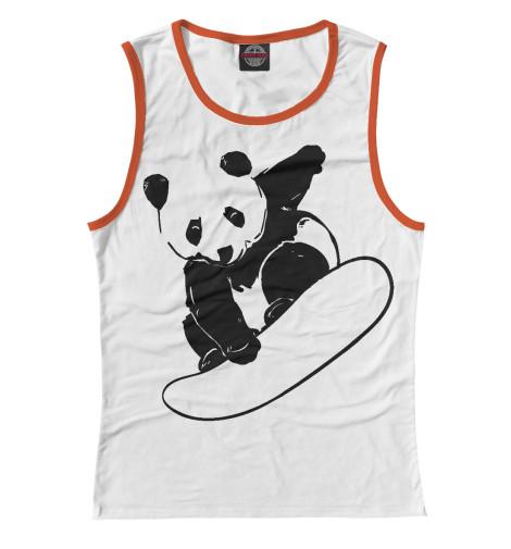Майка Print Bar Panda Snowboarder майка print bar panda color