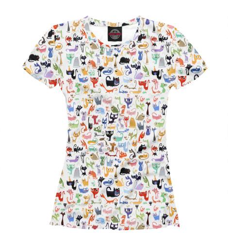 Футболка Print Bar Love Cats футболка print bar love lo