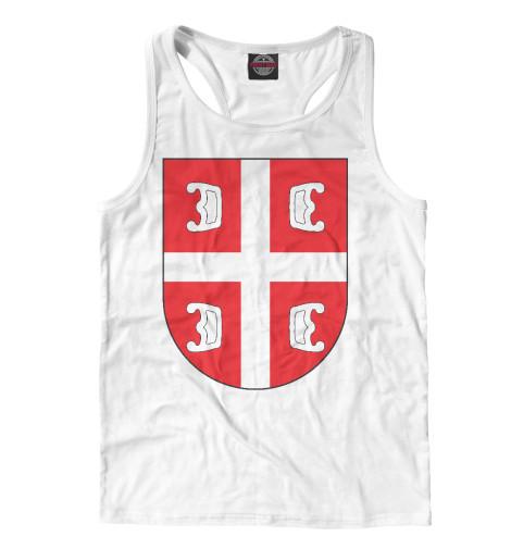 Майка борцовка Print Bar Сербский Щит футболка print bar сербский щит