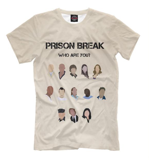 Купить Мужская футболка Кто ты из сериала Побег SOT-775463-fut-2
