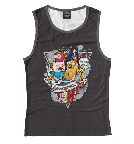 Купить Майка для девочки Adventure Time Team ADV-215175-may-1