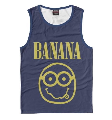 Майка Print Bar Banana Nerd nerd do well