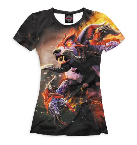 Женская футболка Dota 2