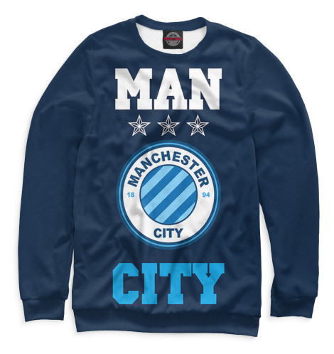 Свитшот Print Bar Manchester City худи print bar manchester city