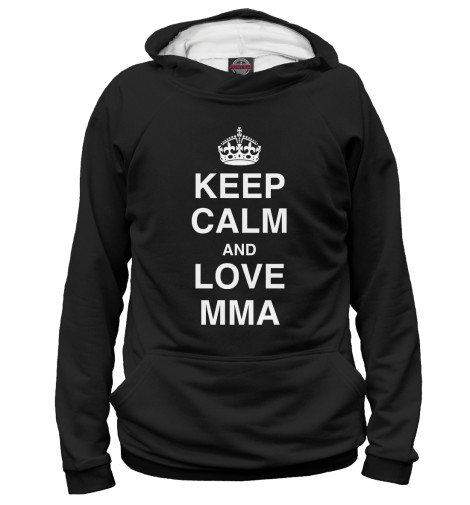 Худи Print Bar Keep Calm And Love MMA чехол для iphone 7 глянцевый printio keep calm and play rock