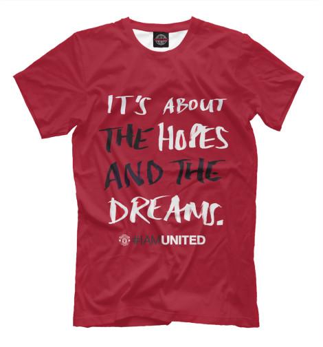 Футболка Print Bar Manchester United brighton manchester united