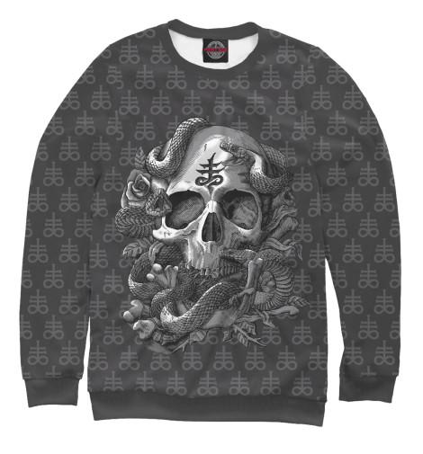 Свитшот Print Bar Satan Skull свитшот print bar wing chun