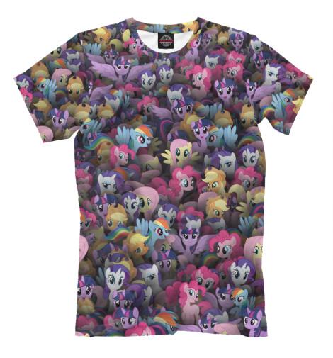 Футболка Print Bar My little pony. Персонажи футболка wearcraft premium printio my little pony
