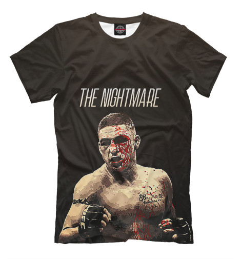 Футболка Print Bar Diego Sanchez - The Nightmare diego m пуховик в москве