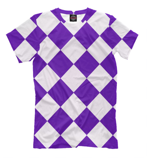 Футболка Print Bar Фиолетовые кубики футболка print bar кубики