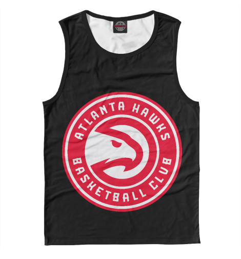 Майка Print Bar Atlanta Hawks свитшот print bar tony hawks underground 2