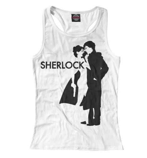 Майка борцовка Print Bar Шерлок - Sherlock толстовка wearcraft premium унисекс printio шерлок холмс sherlock holmes