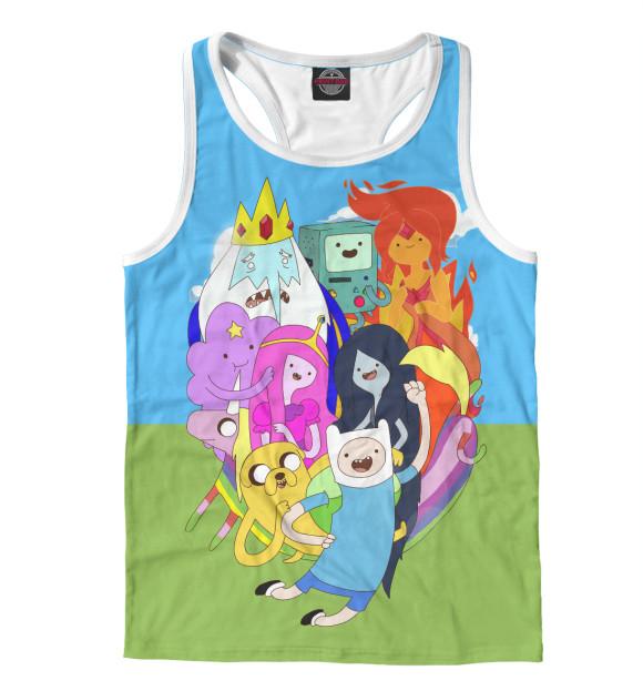 Купить Мужская майка-борцовка Adventure Time ADV-173403-mayb-2