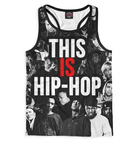 Мужская майка-борцовка This is Hip-Hop