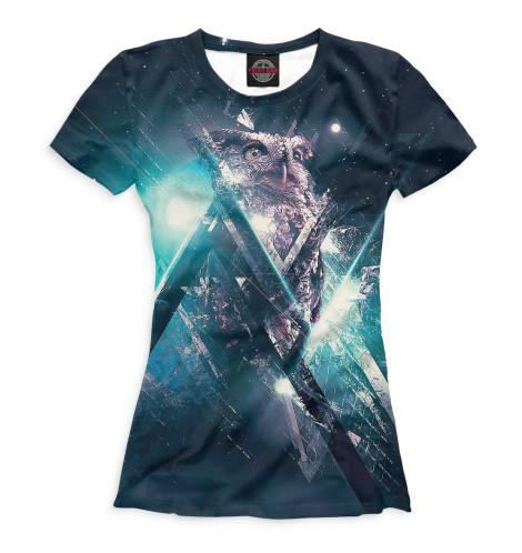 Женская футболка Совы