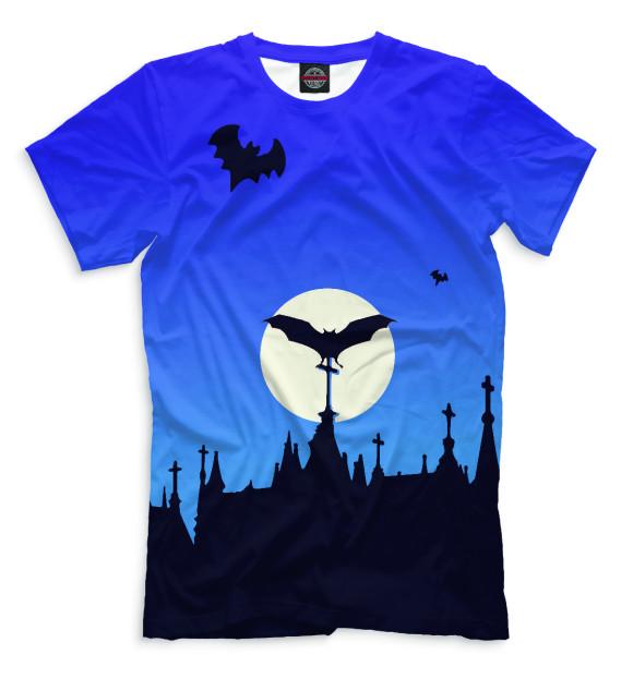 Купить Мужская футболка Halloween HAL-301129-fut-2