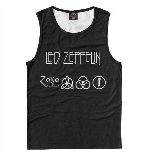 Майка Print Bar Led Zeppelin виниловая пластинка led zeppelin led zeppelin 3lp