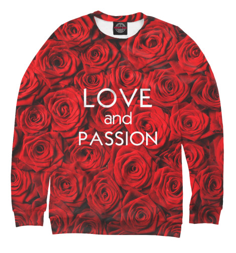 Свитшот Print Bar Love & Passion футболка catimini catimini ca053ebahsx6