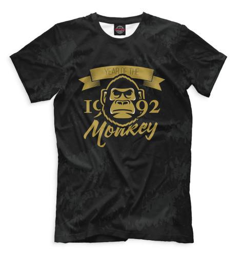 Футболка Print Bar Год обезьяны — 1992 за сколько можно 50 копеек за 1992 год