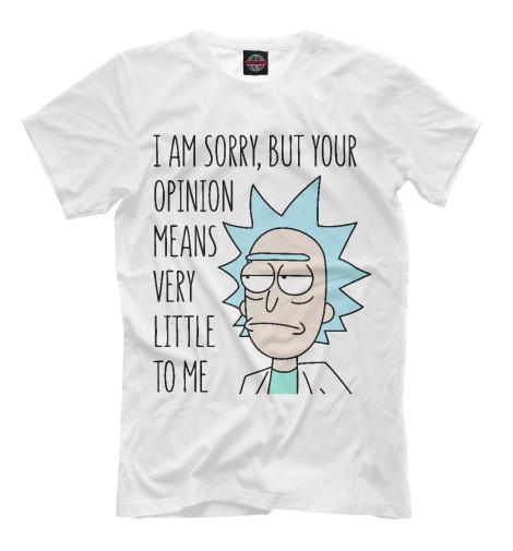 Купить Мужская футболка Рик RNM-615348-fut-2