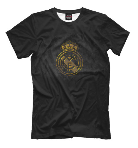 Футболка Print Bar Реал Мадрид детская футболка классическая унисекс printio реал мадрид