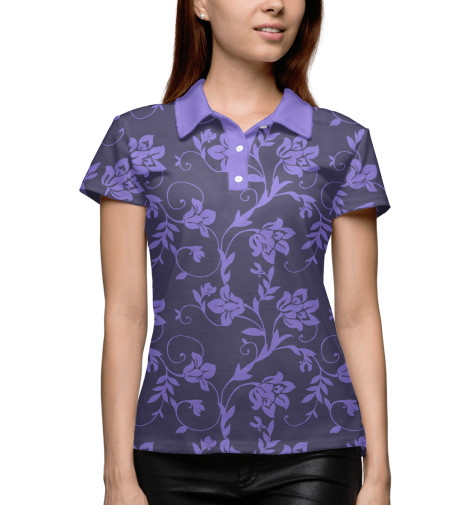 Поло Print Bar Floral (Purple) худи print bar floral purple