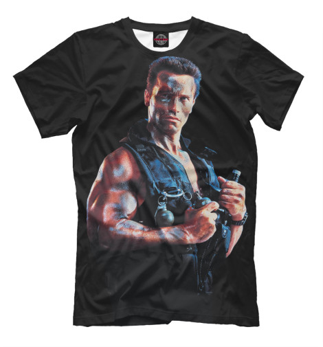 Футболка Print Bar Commando набор фигурок rebel commando pao