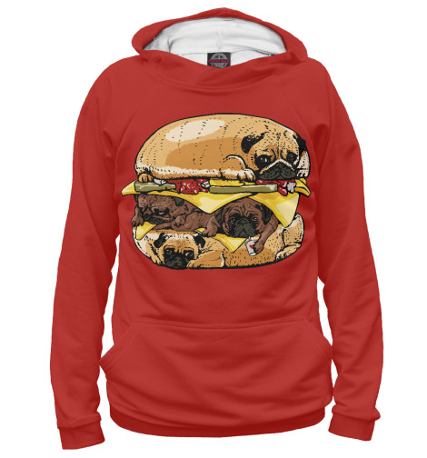 Купить Худи для девочки Dog Burger EDA-946534-hud-1