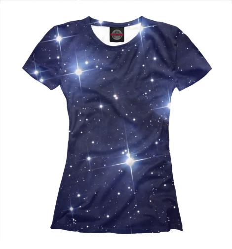 Футболка Print Bar Звездное Небо поло print bar звездное небо
