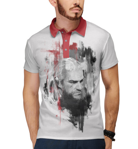 Поло Print Bar Geralt of Rivia
