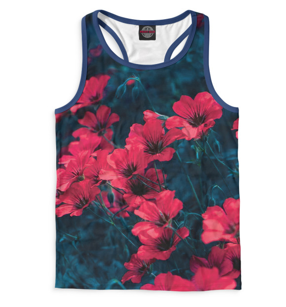 Купить Мужская майка-борцовка Цветы CVE-524108-mayb-2