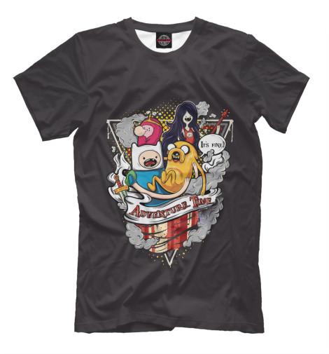 Купить Футболка для мальчиков Adventure Time Team ADV-215175-fut-2