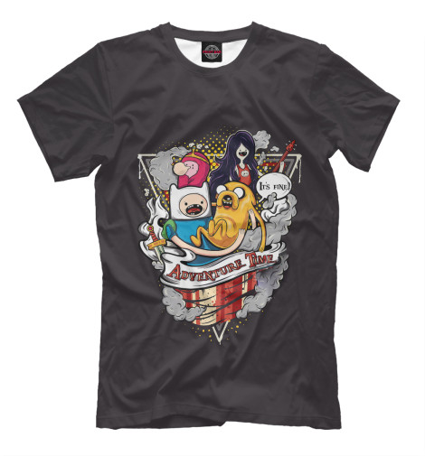 Футболка Print Bar Adventure Time Team