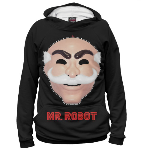 Худи Print Bar Mr. robot свитшот print bar mr robot
