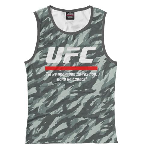 Майка Print Bar UFC комуфляж