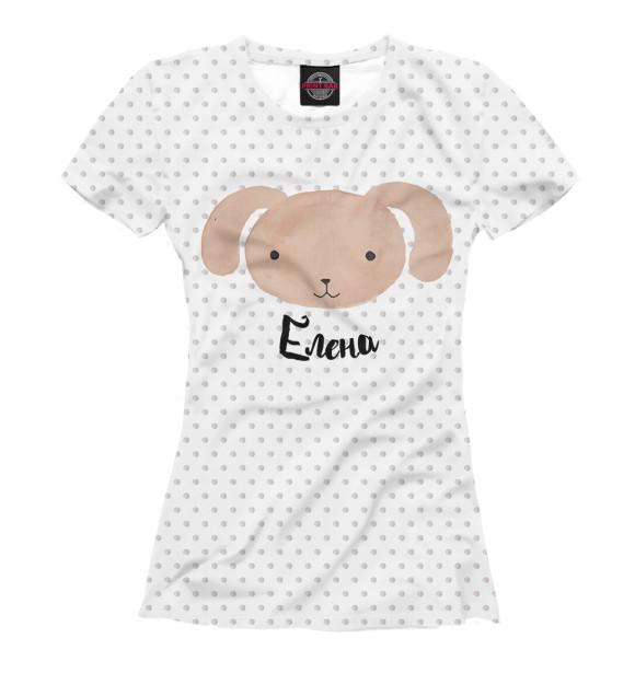 Купить Футболка для девочек Елена LEN-690432-fut-1