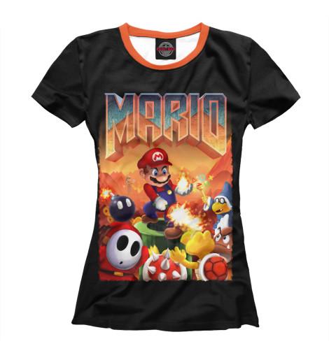 Футболка Print Bar Mario Doom худи print bar mario doom