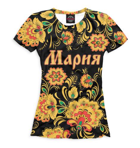 Женская футболка Мария