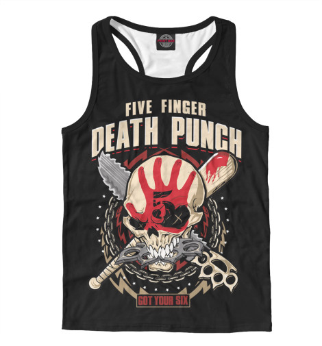 Майка борцовка Print Bar Five Finger Death Punch майка борцовка print bar five finger death punch salvation