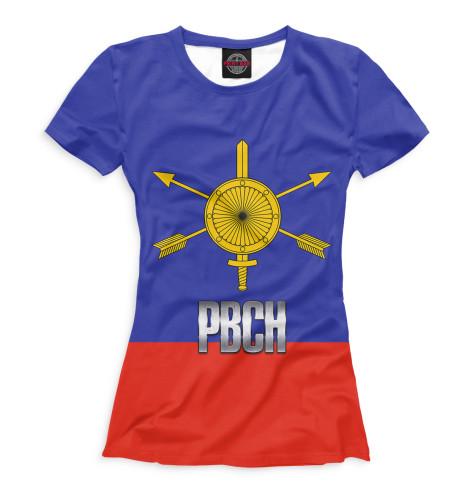 Женская футболка РВСН