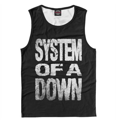 Мужская майка System of a Down
