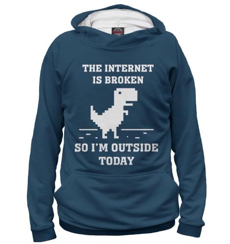 Худи Print Bar The Internet is Broken broken windows broken business how the smallest remedies reap the biggest rewards