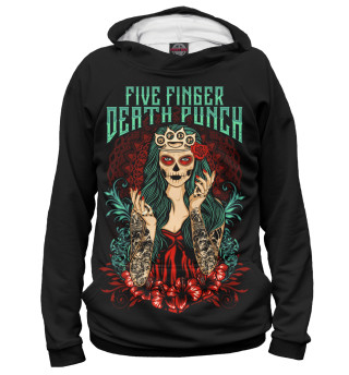 Женское худи Five Finger Death Punch