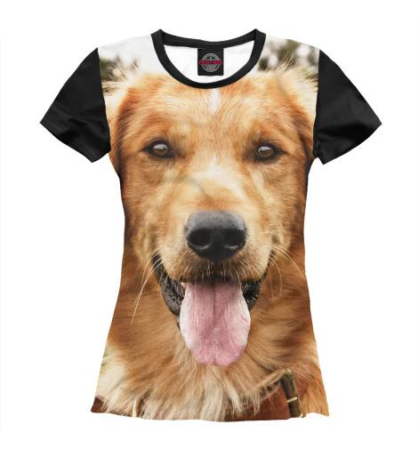 Футболка Print Bar Собачья жизнь собачья мудрость